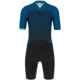 Santini Redux Fortuna Skinsuit Men, black